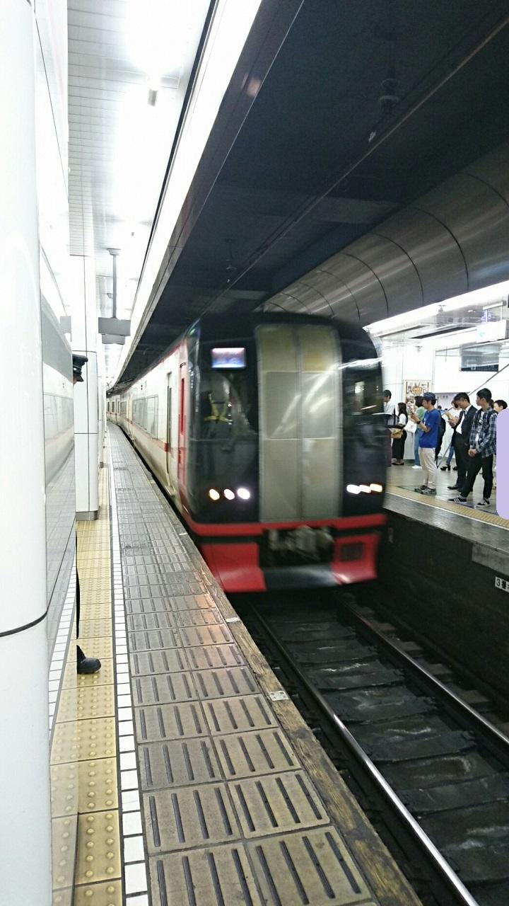 2017.9.18 名古屋 (14) 名古屋 - 豊橋いき特急 720-1280