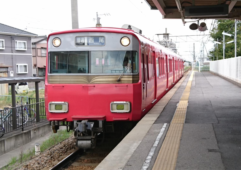 2017.9.27 平坂 (1) 古井 - 西尾いきふつう 1530-1080