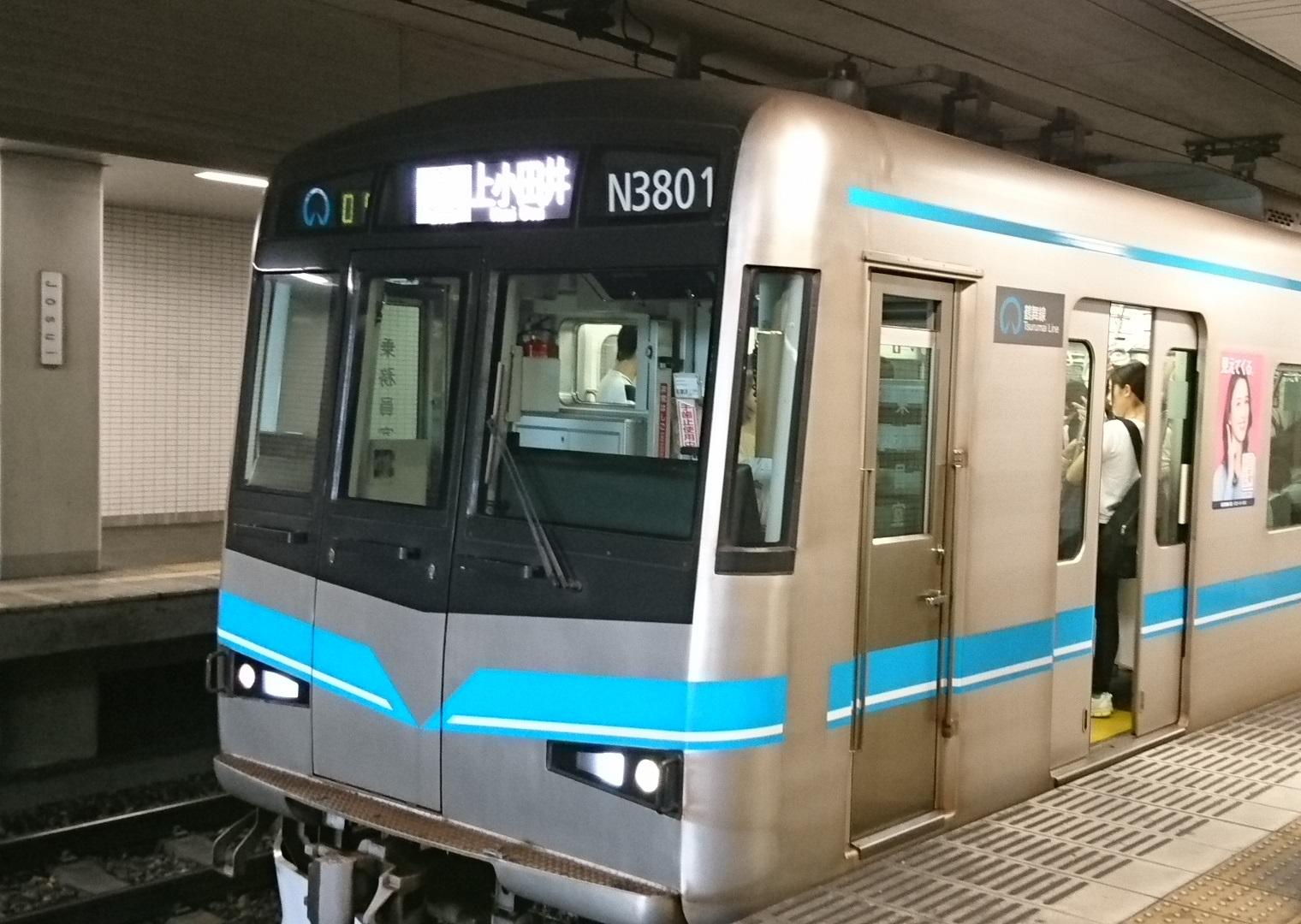 2017.10.3 豊田線 (18) 浄水 - 上小田井いきふつう 1520-1080