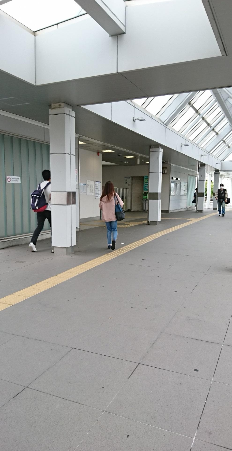2017.10.3 豊田線 (22) 浄水=駅舎いりぐち 990-1920