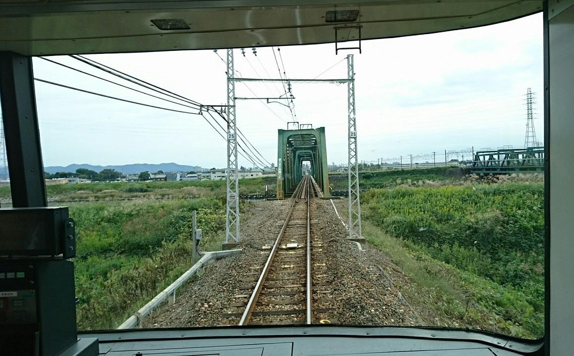 2017.10.5 豊橋 (5) 豊橋いき急行 - 豊川放水路 1160-720