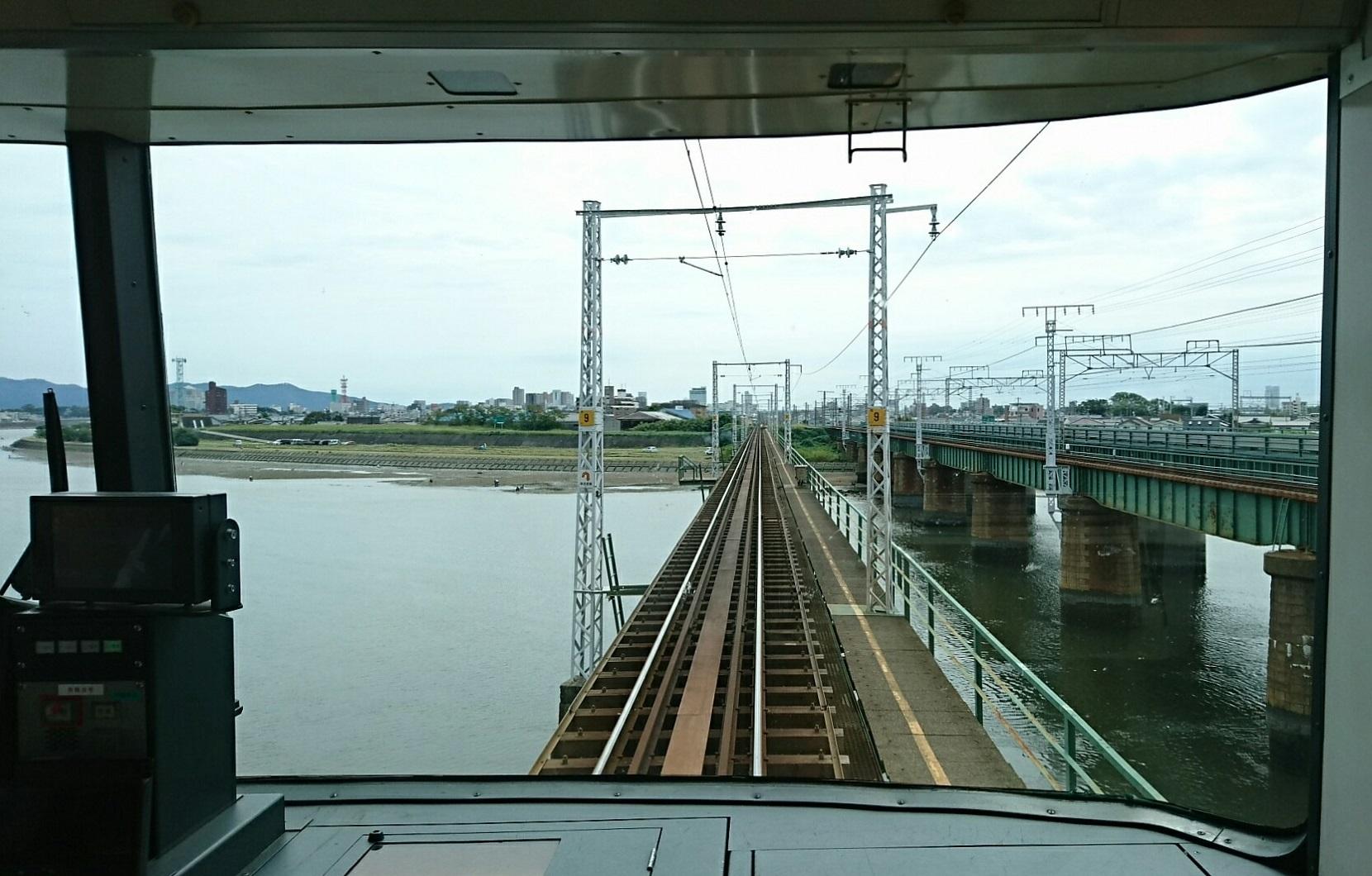2017.10.5 豊橋 (6) 豊橋いき急行 - 豊川 1660-1060