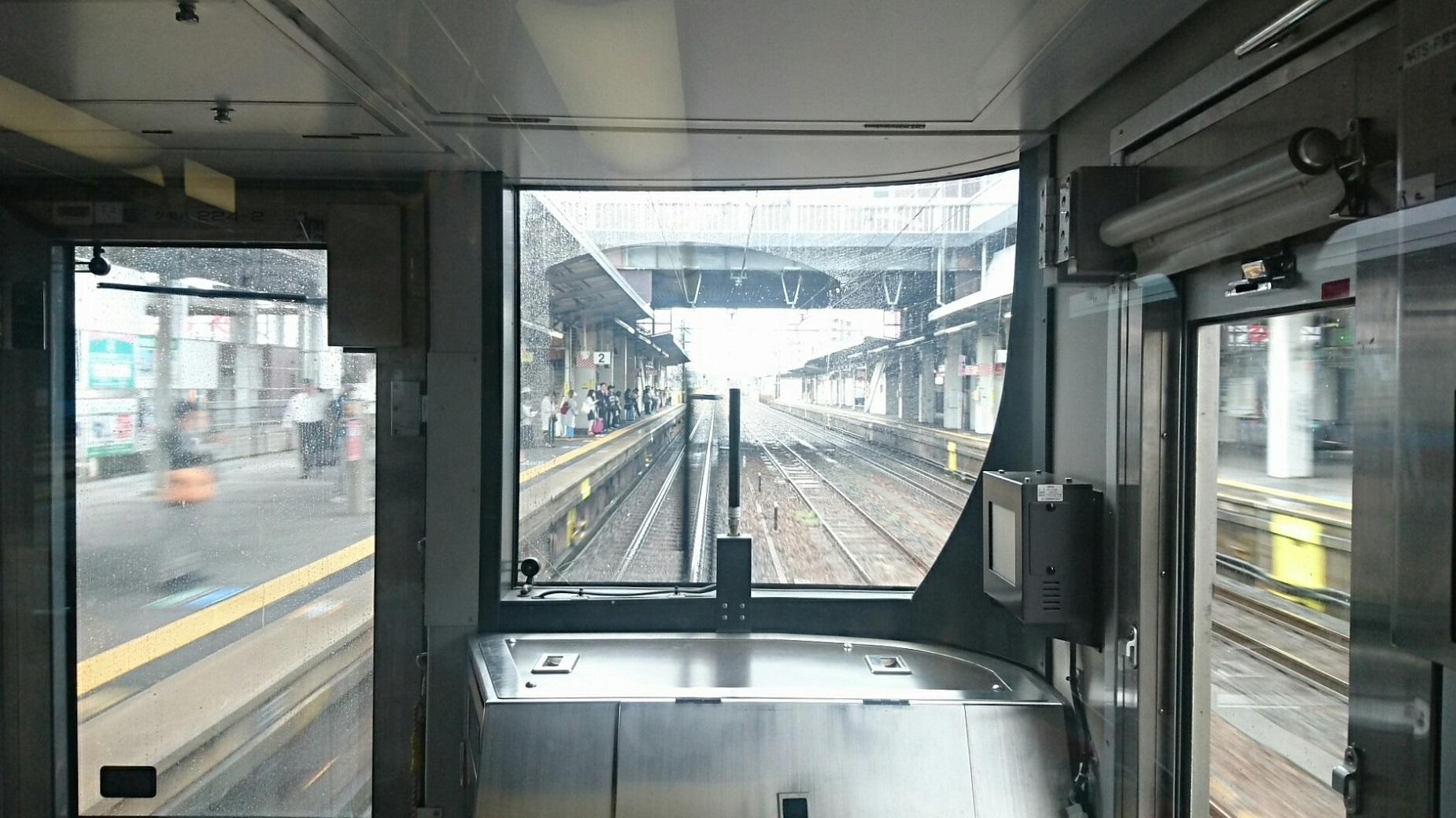 2017.10.7 近江八幡 (8) 姫路いき新快速 - 彦根 1850-1040