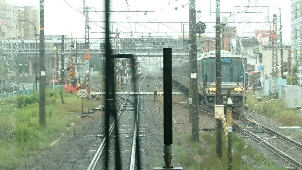 2017.10.7 近江八幡 (15) 姫路いき新快速 - 近江八幡 1280-720