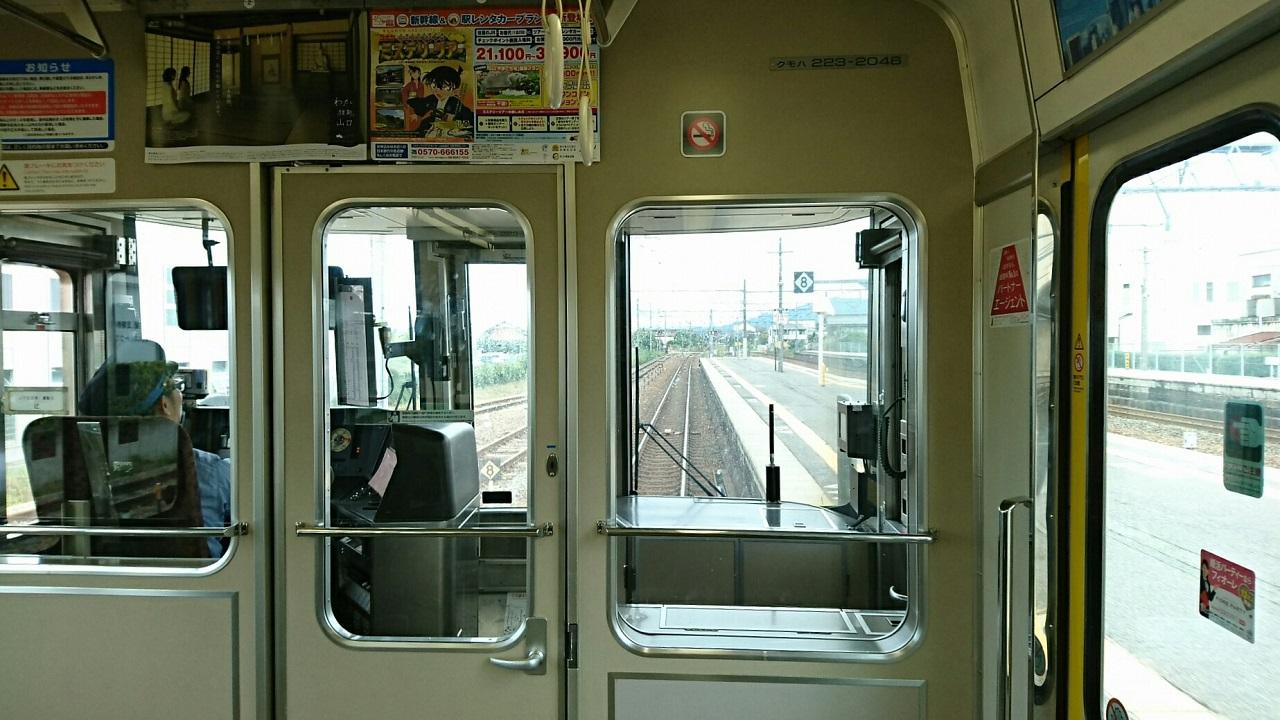 2017.10.7 彦根 (3) 米原いきふつう - 河瀬 1280-720
