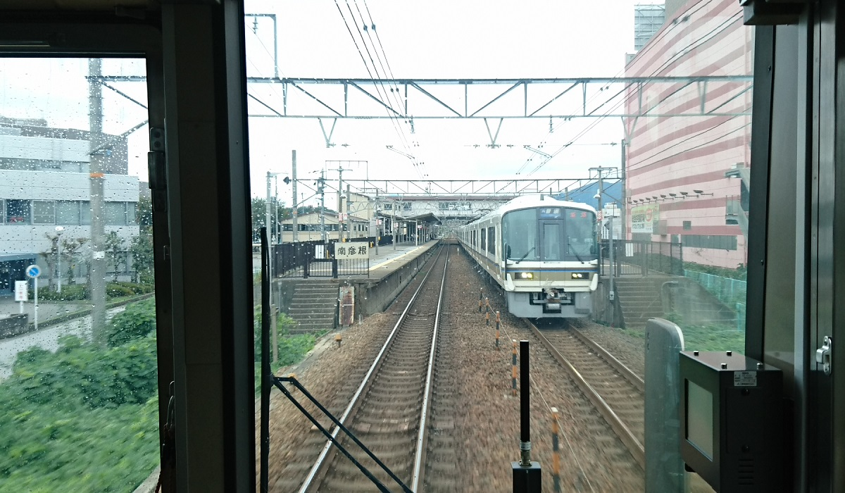 2017.10.7 彦根 (5) 米原いきふつう - 南彦根 1200-700