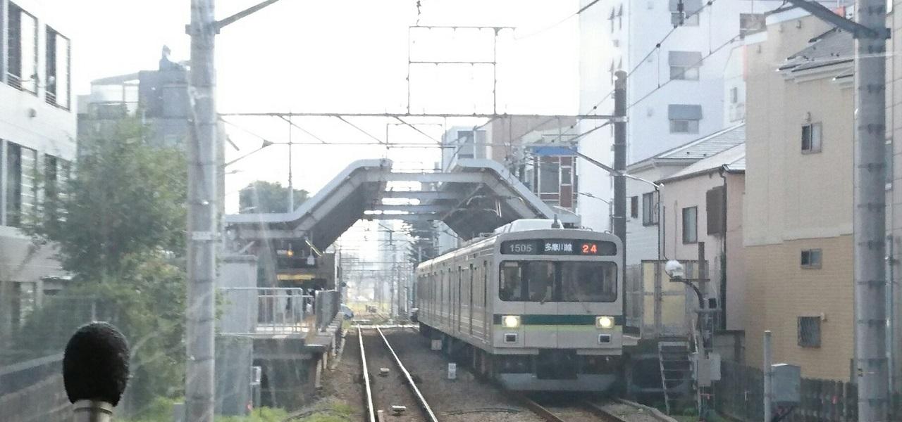 2017.10.12 東京 (29) 蒲田いき各停 - 下丸子(しもまるこ) 1280-600