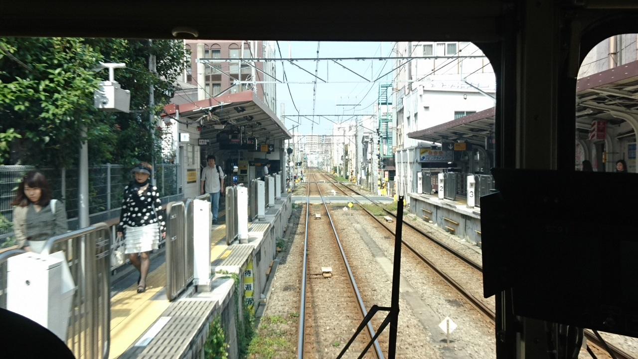 2017.10.12 東京 (44) 五反田いき各停 - 蓮沼 1280-720