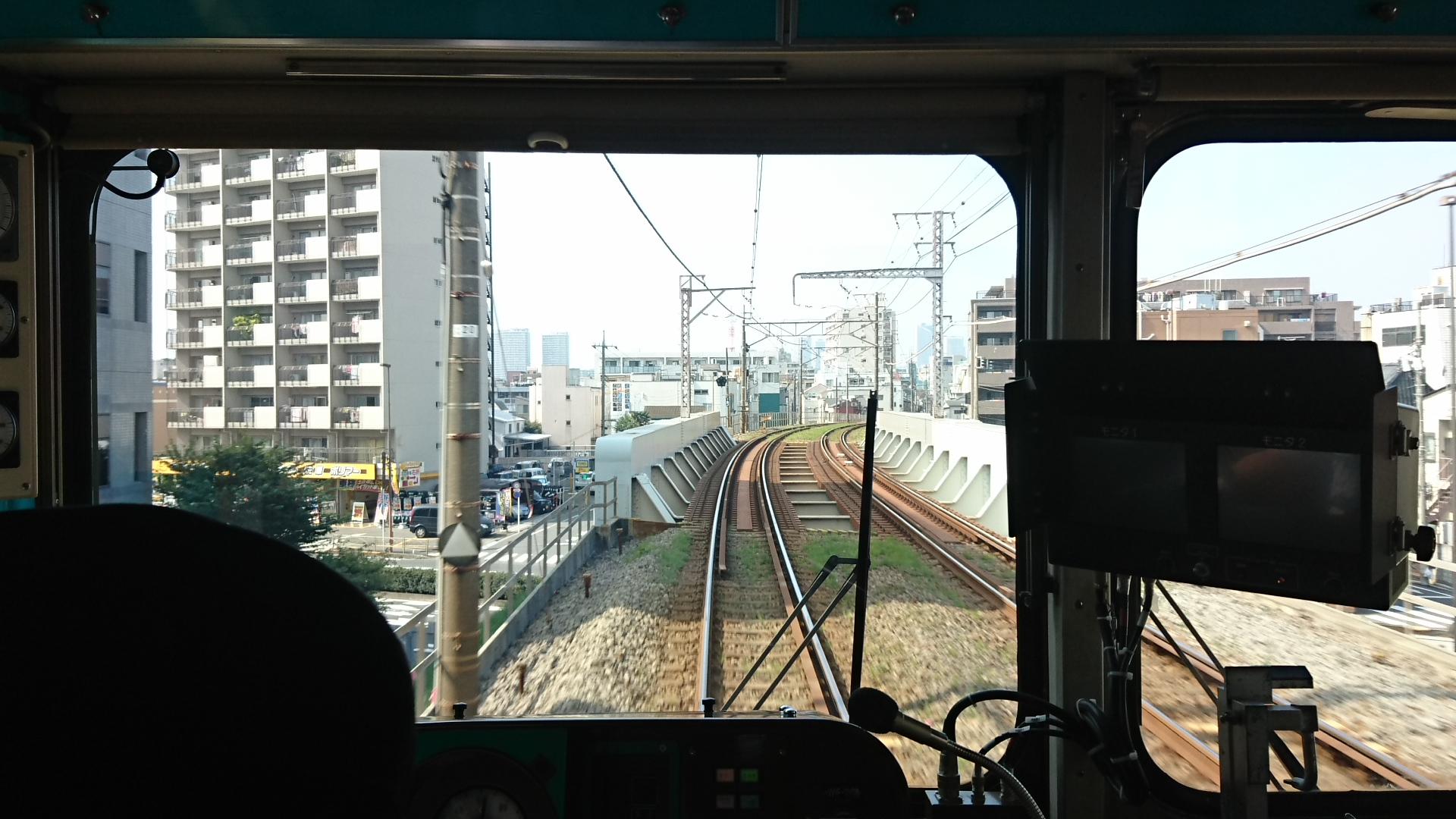 2017.10.12 東京 (46) 五反田いき各停 - 第二京浜 1920-1080