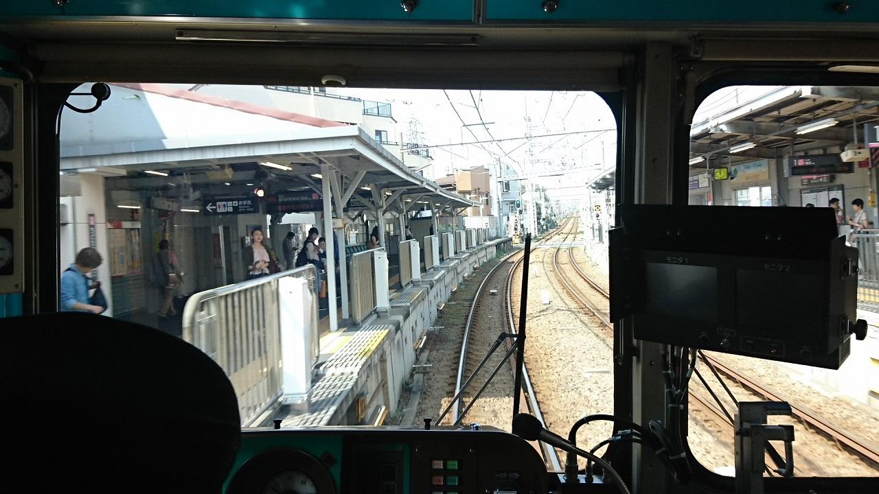 2017.10.12 東京 (47) 五反田いき各停 - 千鳥町 1280-720