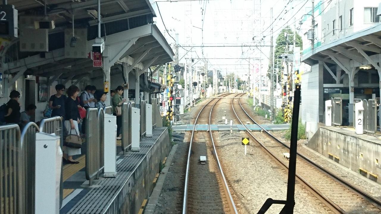 2017.10.12 東京 (49) 五反田いき各停 - 久が原 1280-720