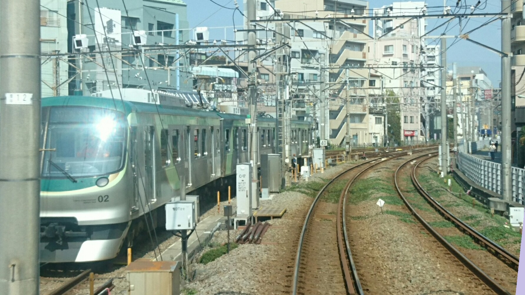 2017.10.12 東京 (52) 五反田いき各停 - 雪が谷大塚車両基地 1780-1000