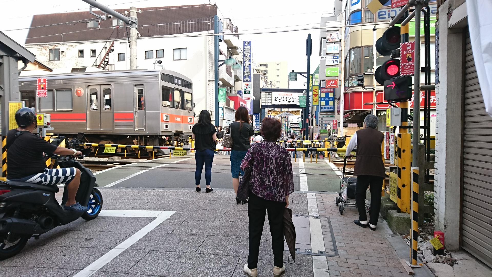 2017.10.12 東京 (88) 戸越銀座 - ふみきり 1920-1080