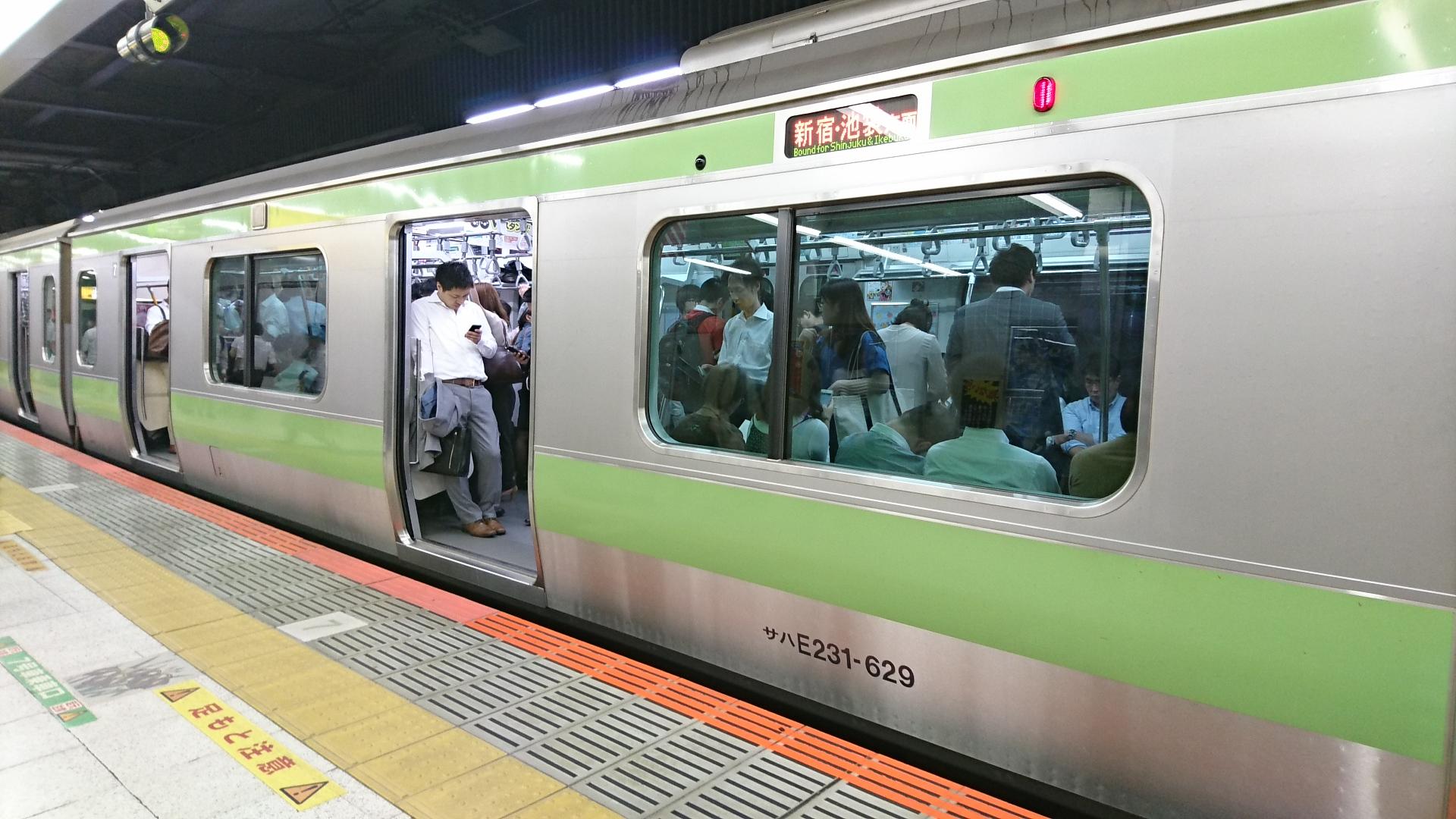 2017.10.12 東京 (97) JR渋谷 - 山手線電車 1920-1080
