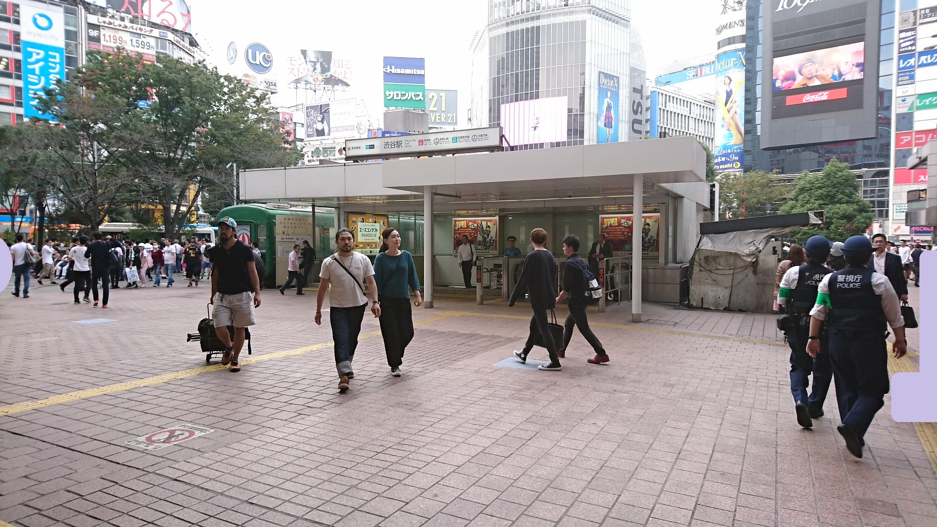 2017.10.12 東京 (99) 渋谷 - 田園都市線いりぐち 1920-1080