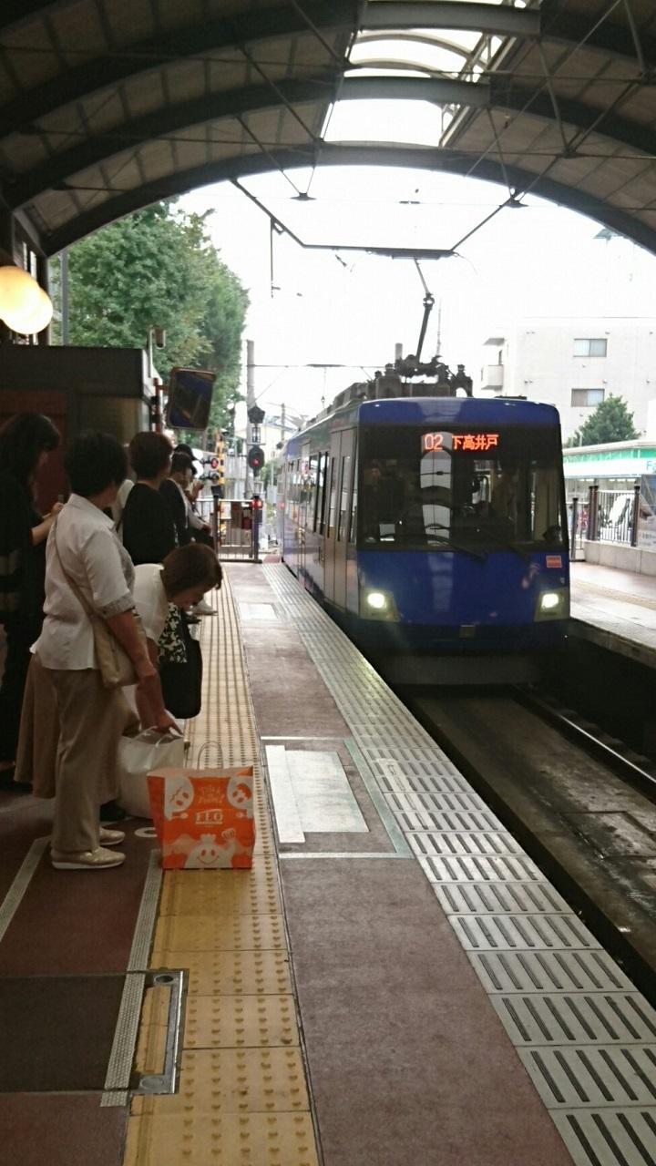 2017.10.12 東京 (109) 三軒茶屋 - 下高井戸いきふつう 720-1280