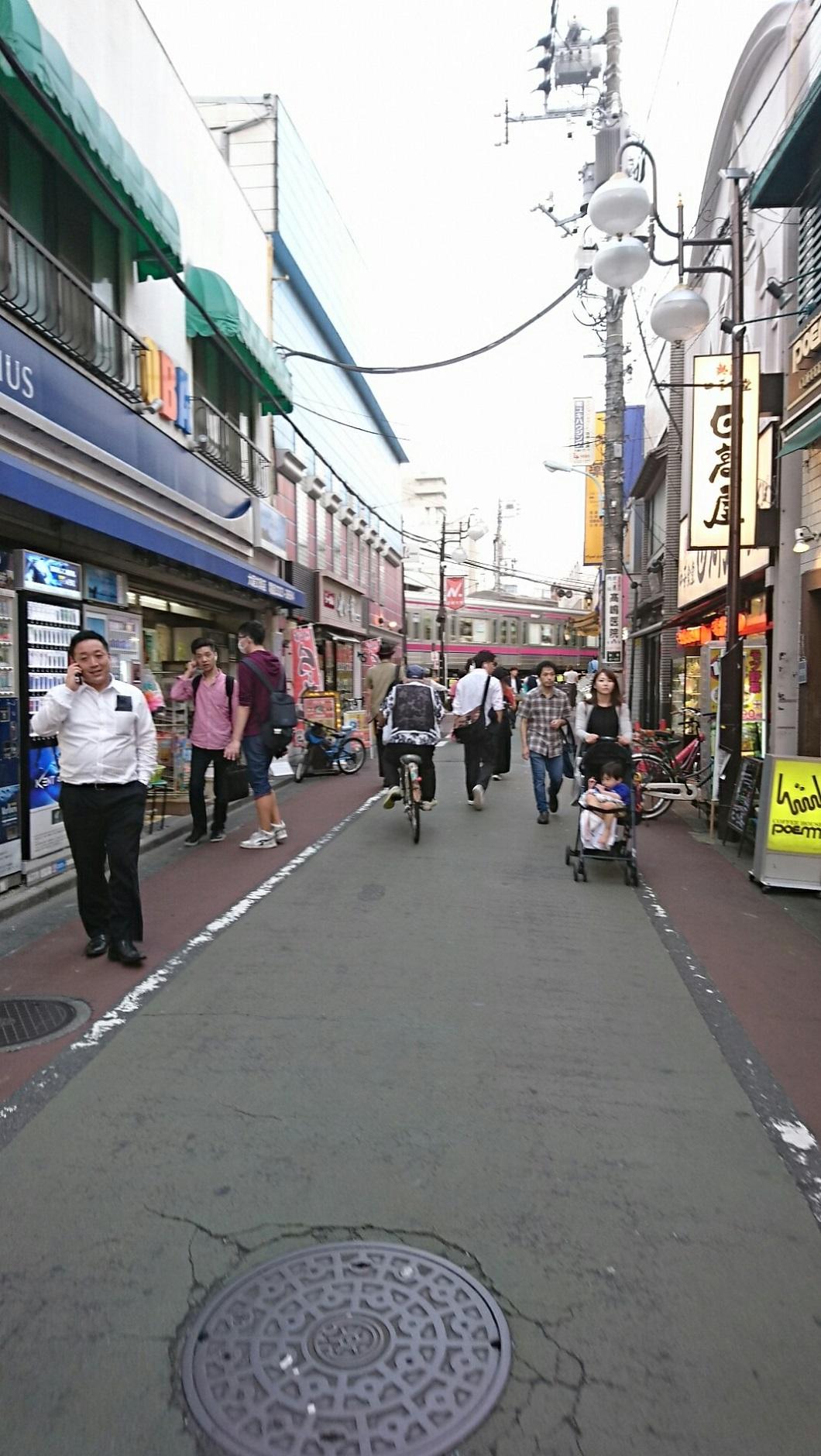 2017.10.12 東京 (144) 下高井戸商店街 - 日大どおり(ひがしむき) 1060-1880