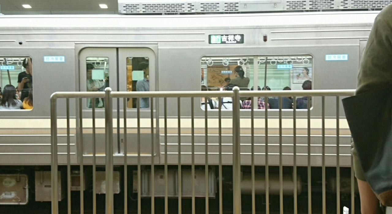 2017.10.12 東京 (152) 明大前 - 吉祥寺いき急行 1280-700