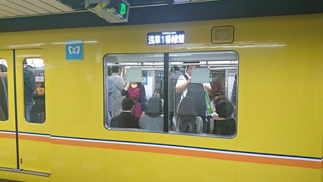2017.10.12 東京 (163) 新橋 - 浅草いき各停 1280-720