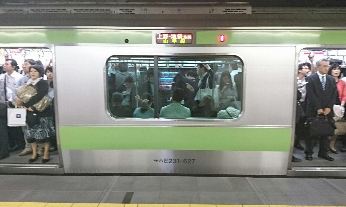 2017.10.12 東京 (170) 東京 - 山手線うちまわり電車 1200-720