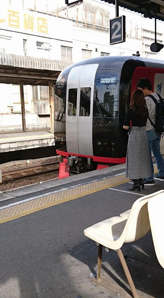 2017.10.5 豊橋 (10) 東岡崎 - 岐阜いき特急 530-960