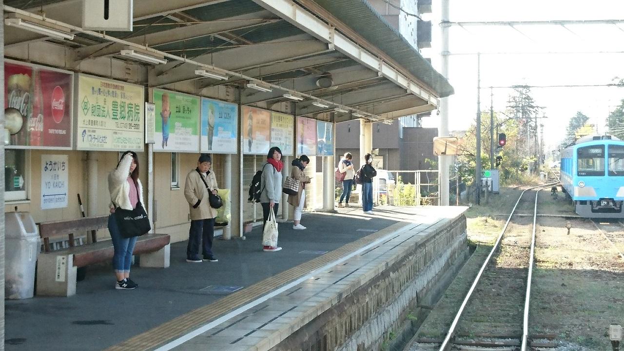 2017.11.17 八日市 (32) 貴生川いきふつう - 八日市 1280-720