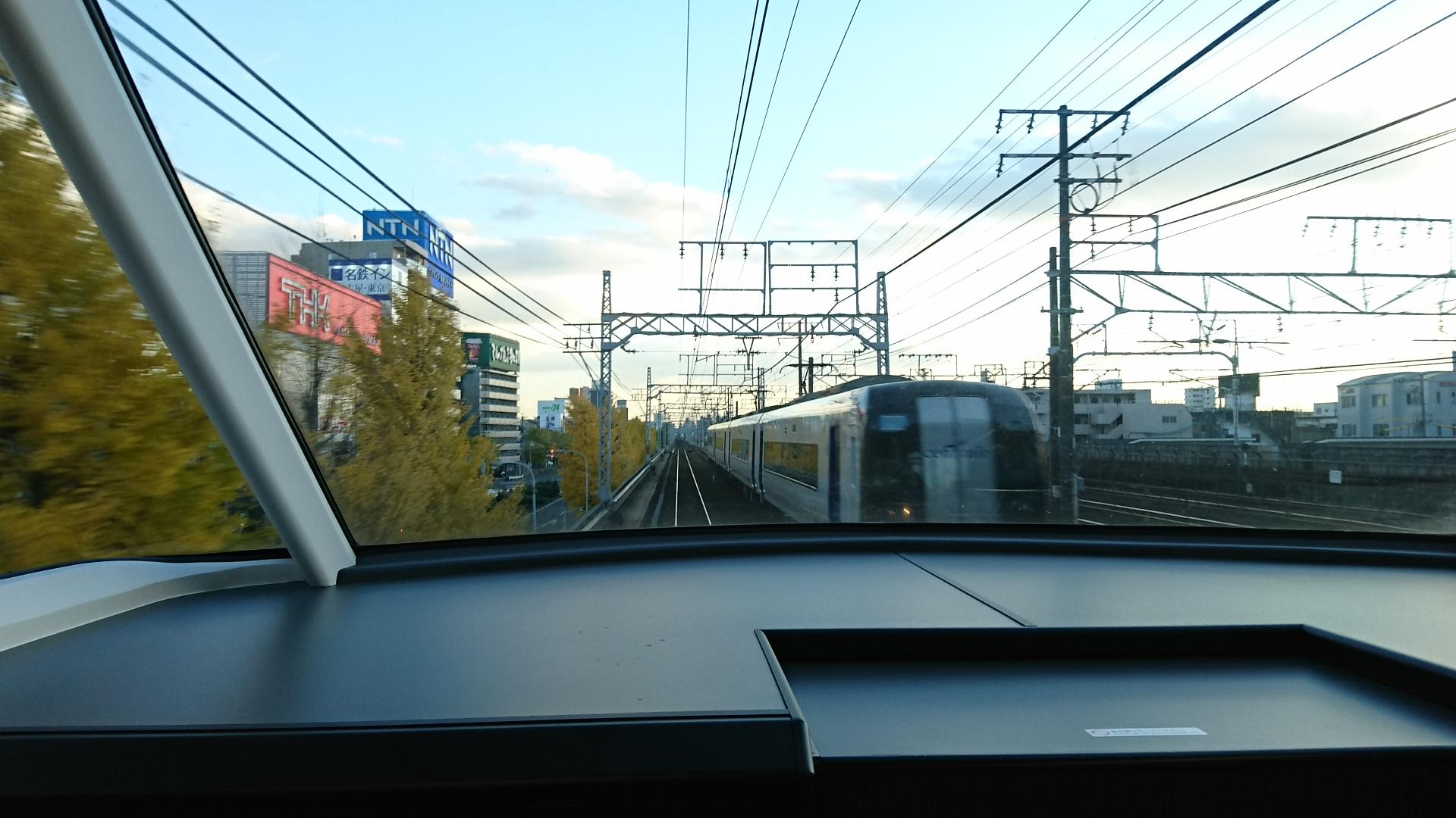 2017.11.24 名古屋 (42) 豊橋いき特急 - 名古屋-山王間 1920-1080