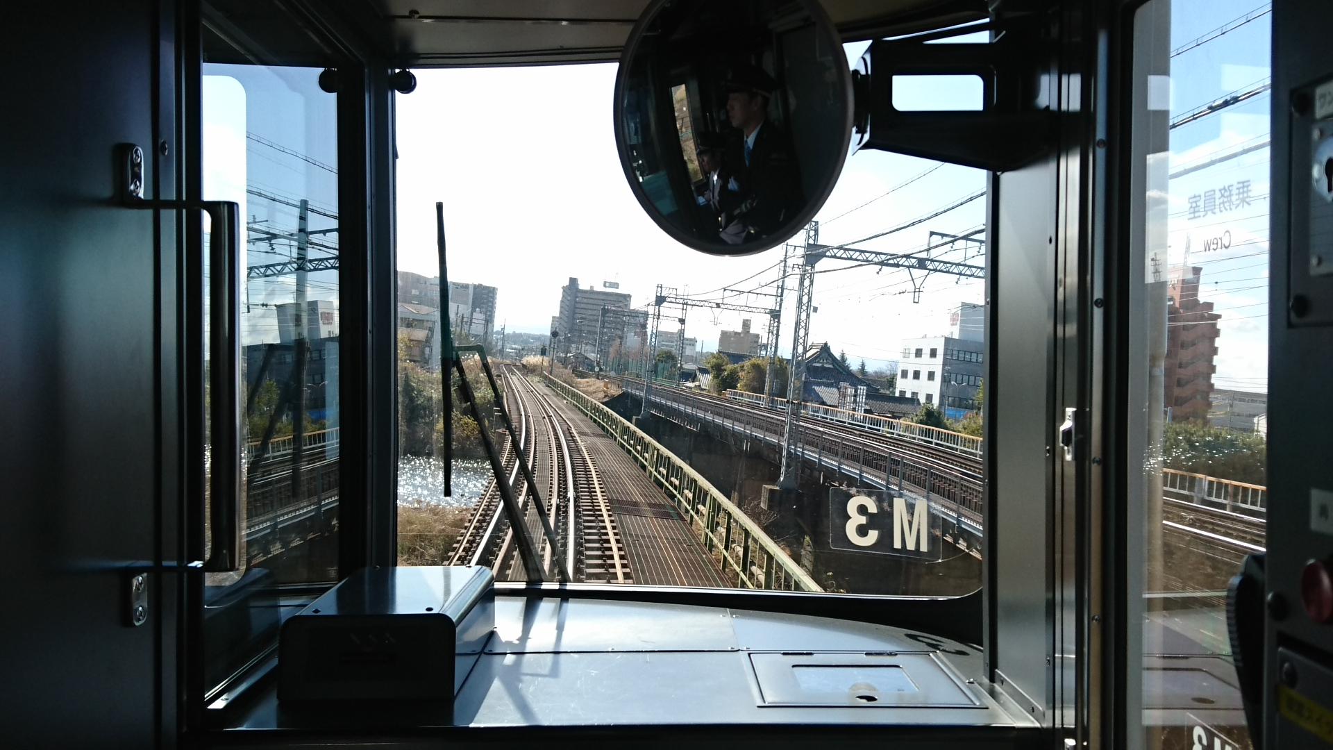 2017.12.12 松阪 (10) 鳥羽いきふつう - 安濃川(あのうがわ) 1920-1080