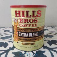ヒルスのコーヒー缶 コーヒー豆の保管にぴったりの特大キャニスター缶