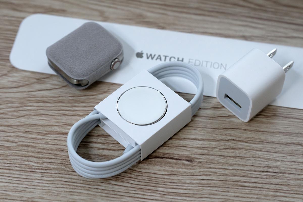 Apple Watch Editionの付属品