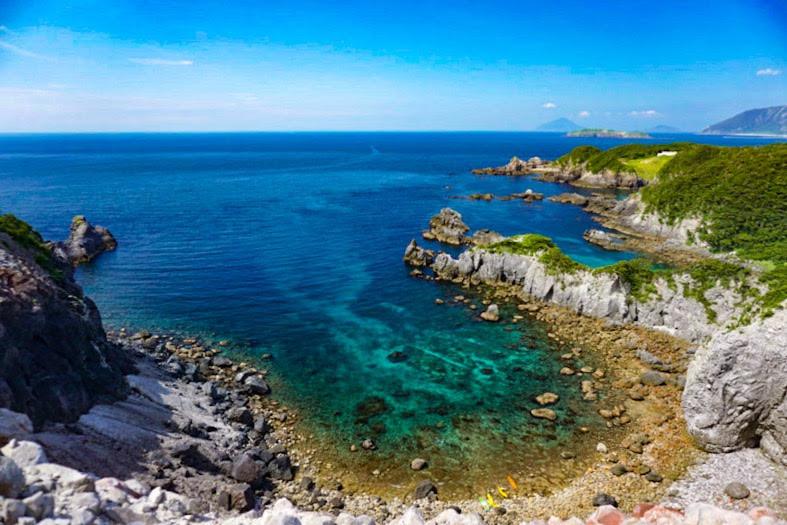 式根島の絶景