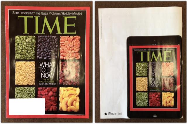 iPad miniの広告とTIME