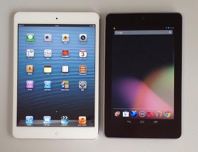 iPad miniとNexus7