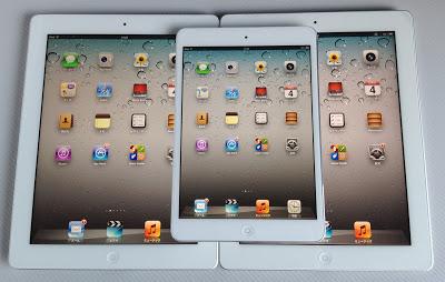iPad2、iPad mini、iPad3