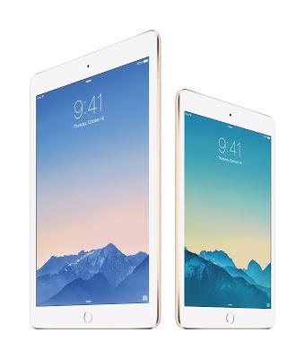 Apple 新型iPad Air 2、iPad mini 3