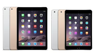 iPad Air 2 & iPad mini 3