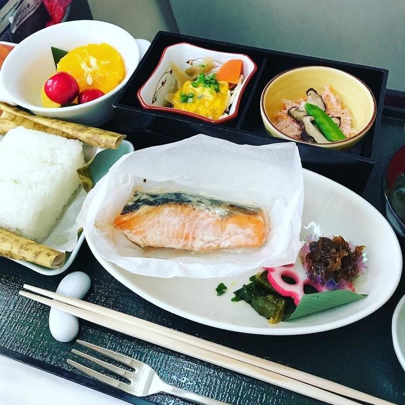 機内食:2017年06月 / 日本航空・JAL307(JL307) / 東京・羽田=福岡 / 国内線ファーストクラス
