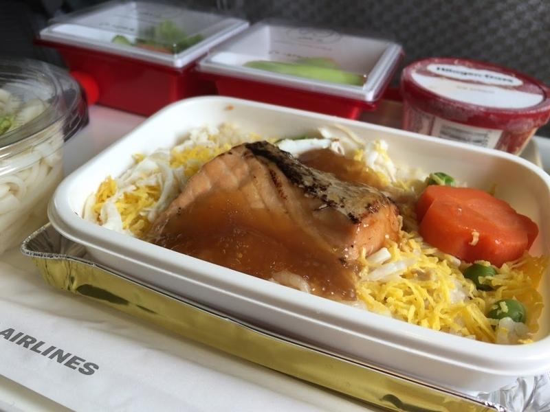 2016年04月: JAL026(香港=東京・羽田) エコノミークラス 機内食