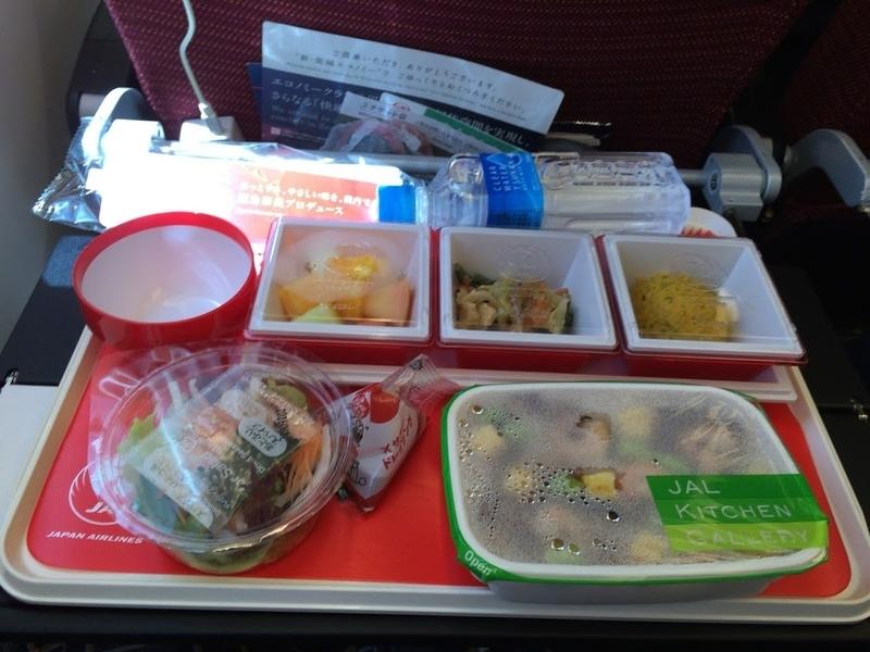 2016年06月: JAL407(東京・成田=フランクフルト)エコノミークラス 機内食