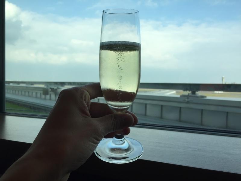 キャセイパシフィック航空ラウンジ(東京・羽田空港・国際線)