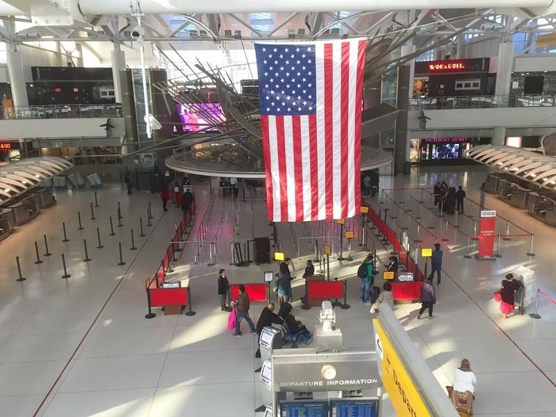 ニューヨーク・JFK空港