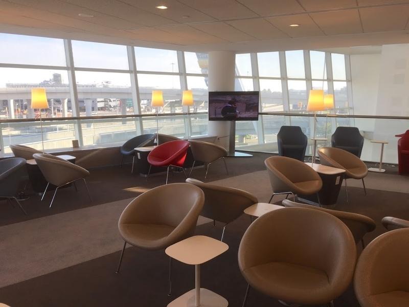 NY JFK airport Air France Lounge
