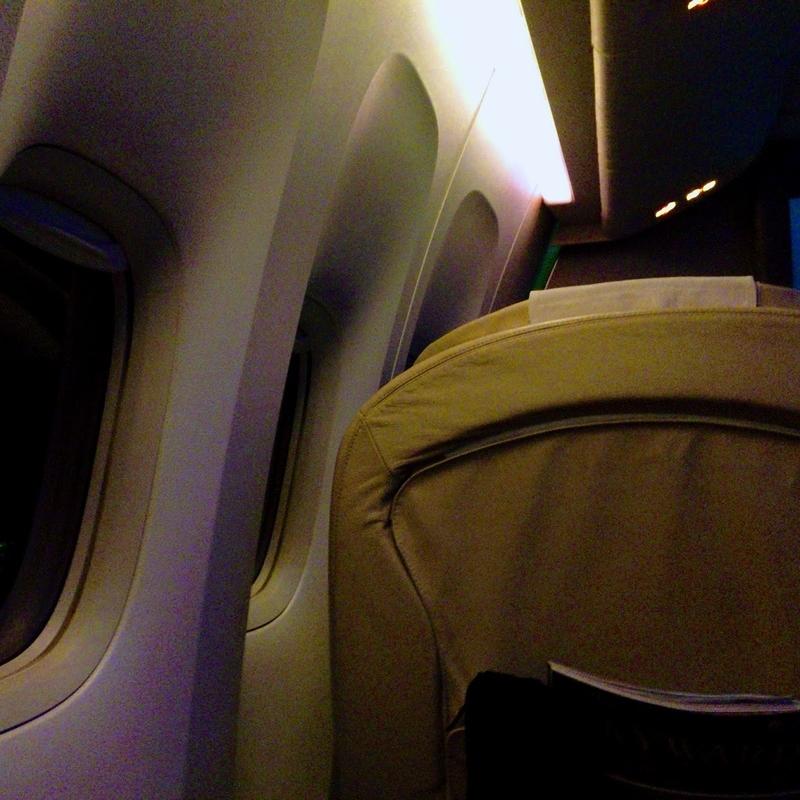 JAL914 OKA-HND 国内線ファーストクラス 2015年12月 | 機上百景