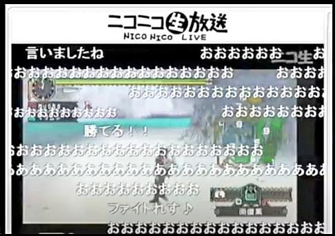 ニコニコ生放送(モンハン)