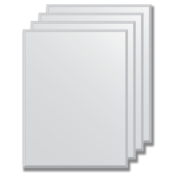 Зеркальная плитка Evoform