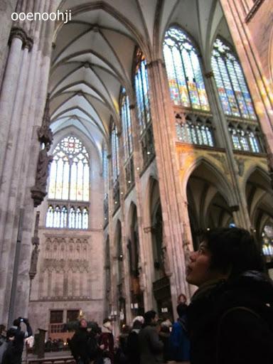 ケルン大聖堂の天井