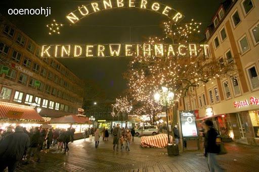 ドイツ・ニュルンベルクのクリスマスマーケット