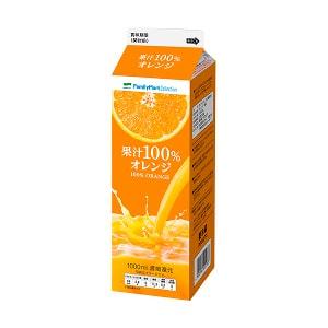 果汁100%オレンジ