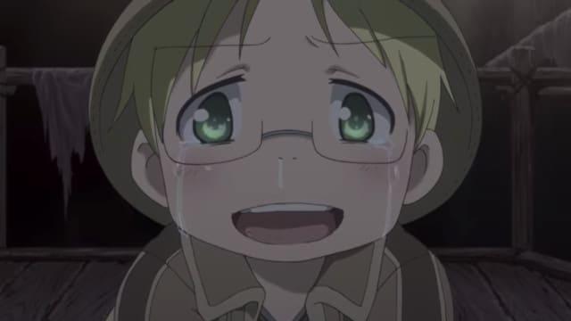 泣き出すリコ