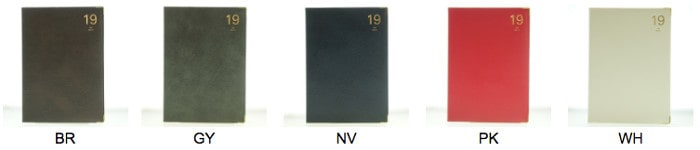 LACONIC A5手帳 カラーリング